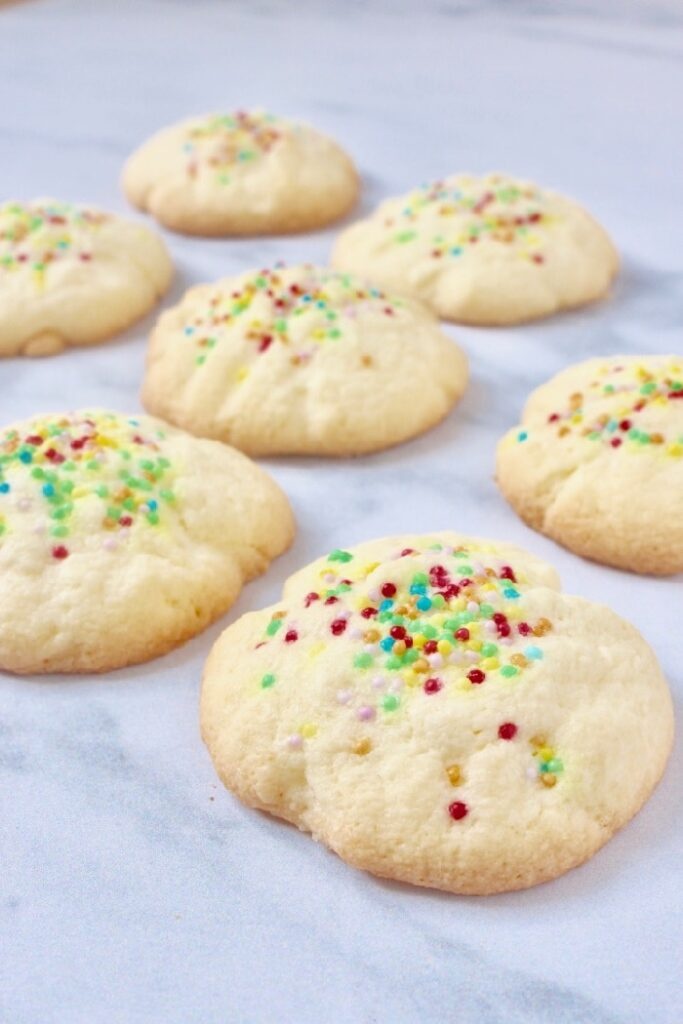 maizena koekjes / surinaamse gomma koekjes met spikkels