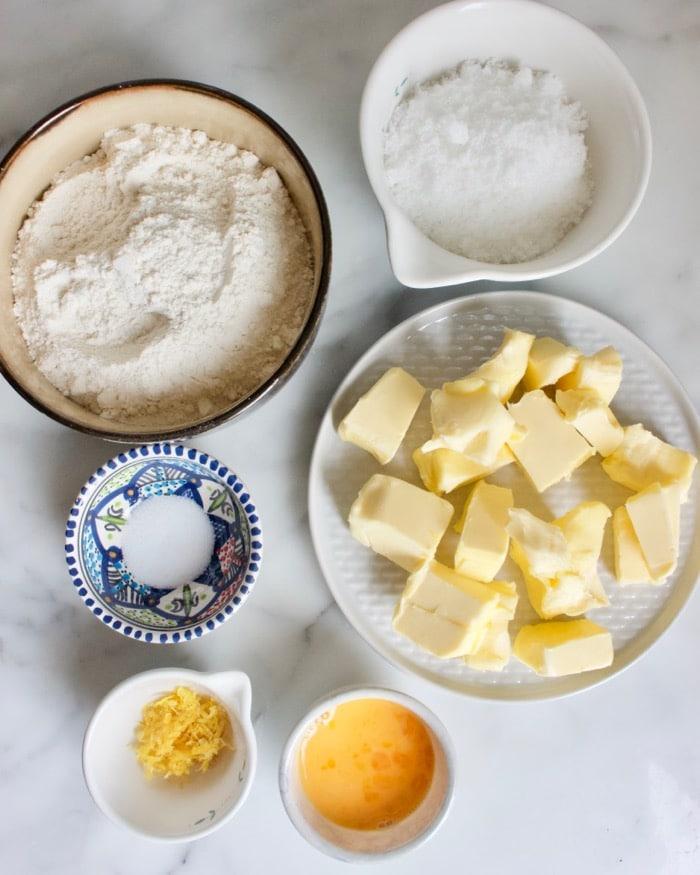 ingredienten voor sprits koekjes recept