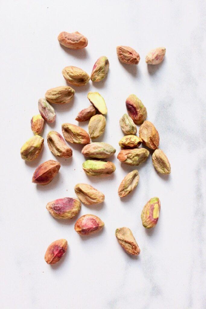 pistache noten (ingredienten voor kulfi ijs recept)